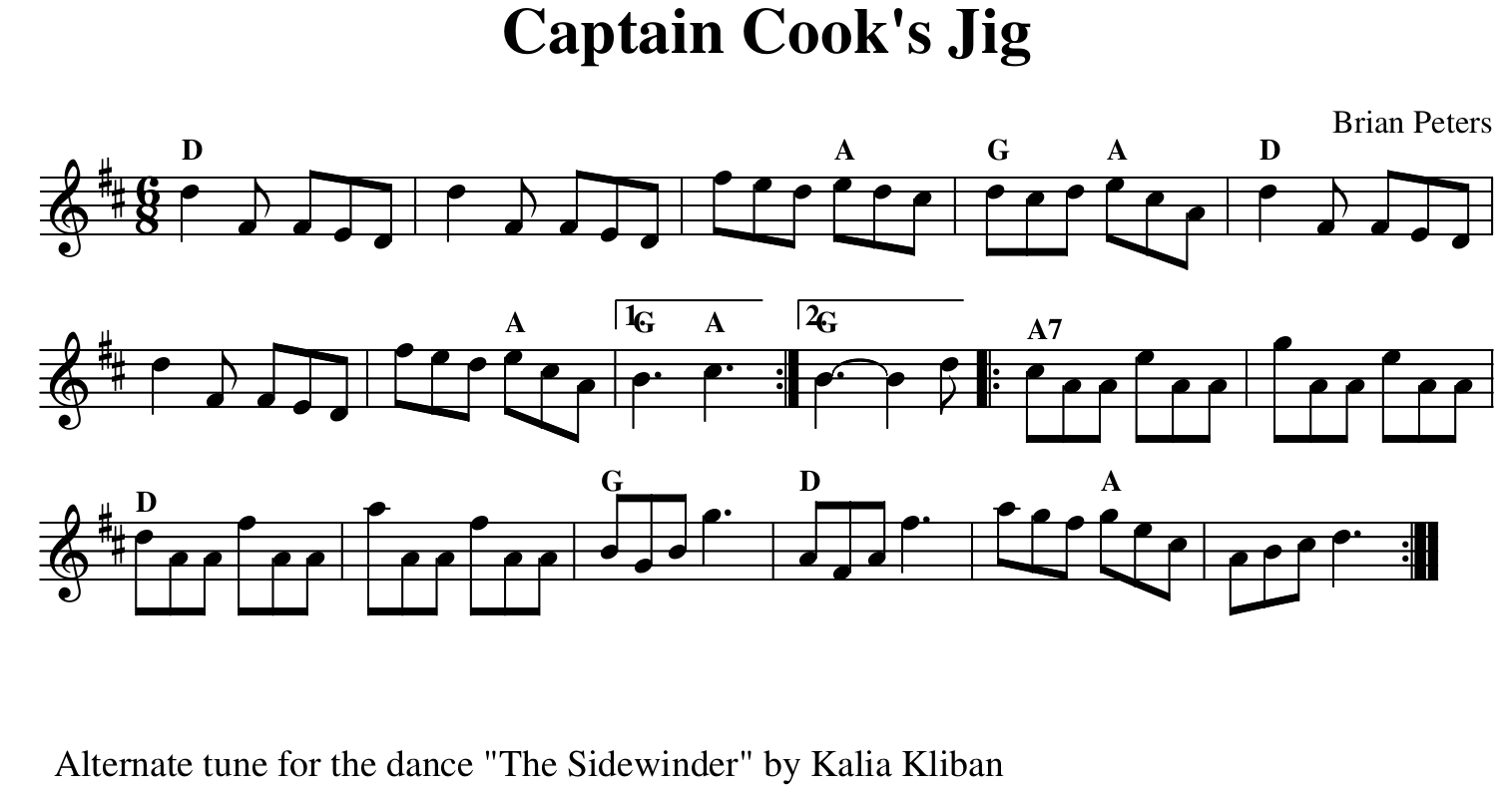 Captain Coo's Jig